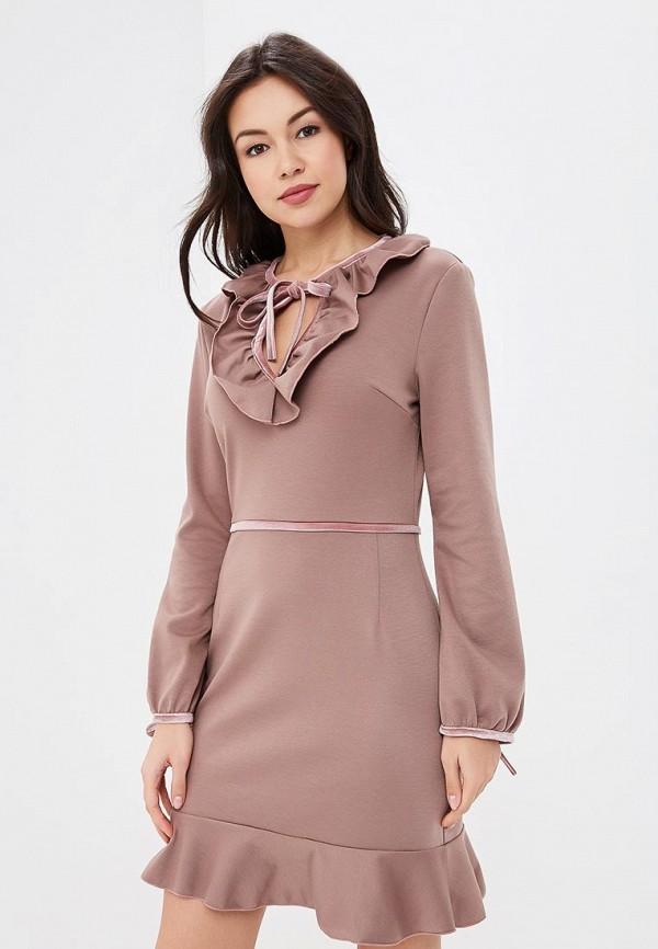 Купить Платье Tutto Bene, TU009EWATUC3, бежевый, Весна-лето 2018