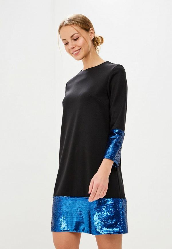 Купить Платье Tutto Bene, TU009EWBCRB7, черный, Весна-лето 2018