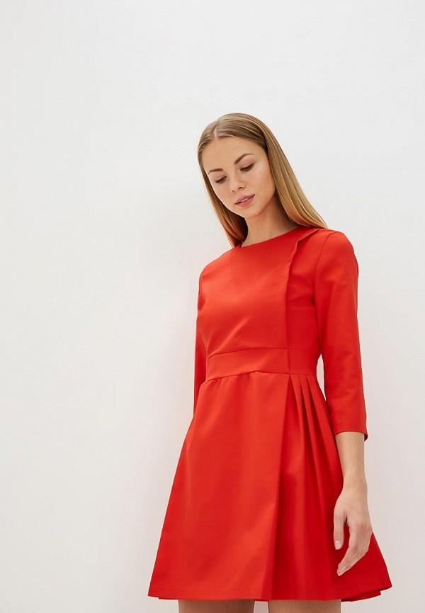 Купить Платье Tutto Bene, tu009ewbcrd3, красный, Весна-лето 2018