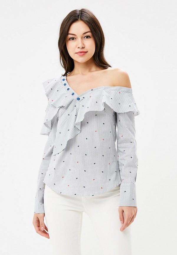 Купить женскую блузку Tutto Bene голубого цвета