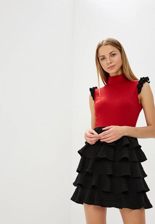 женское вечерние платье tutto bene, разноцветное
