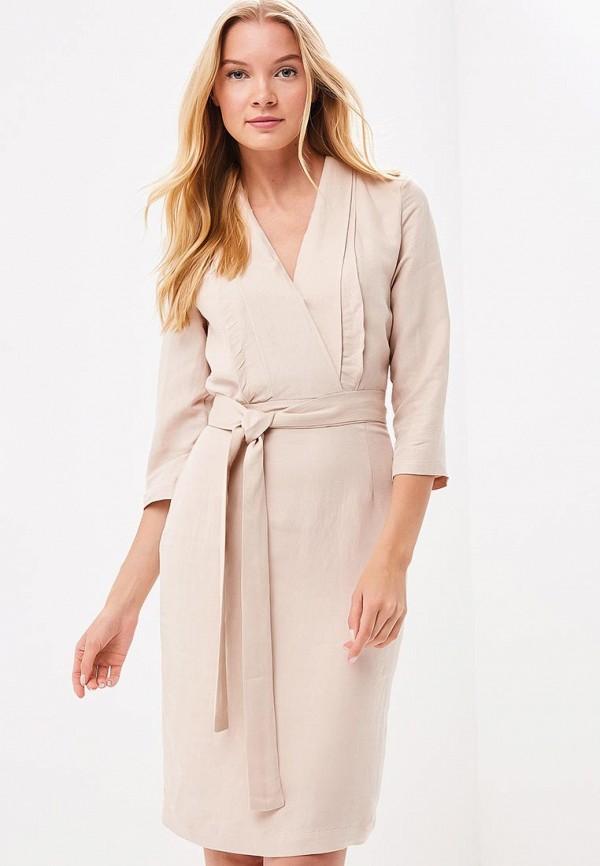 Купить Платье Tutto Bene, TU009EWBHDE2, бежевый, Весна-лето 2018
