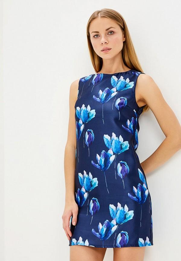 Купить женское платье Tutto Bene синего цвета