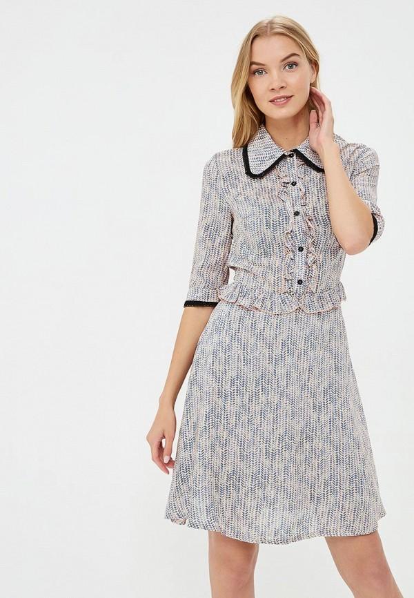 Купить Платье Tutto Bene, TU009EWBHDG4, бежевый, Весна-лето 2018