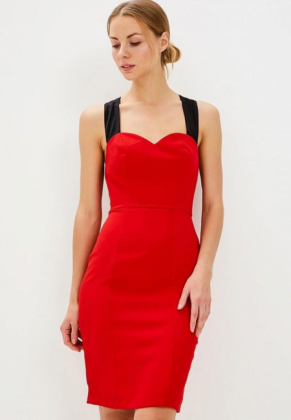 Купить Платье Tutto Bene, tu009ewbhwa1, красный, Весна-лето 2018