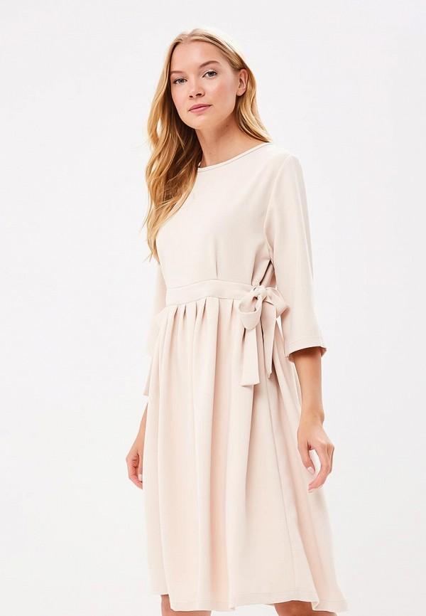 Купить Платье Tutto Bene, TU009EWBLIH2, бежевый, Весна-лето 2018