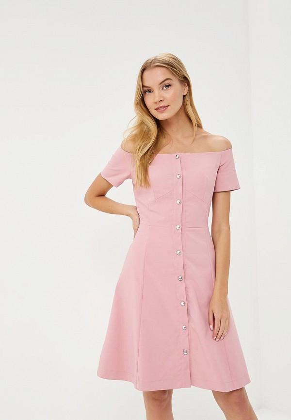 женское платье tutto bene, розовое