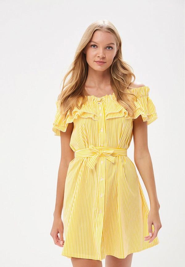Платье Tutto Bene Tutto Bene TU009EWBLIK0 недорго, оригинальная цена