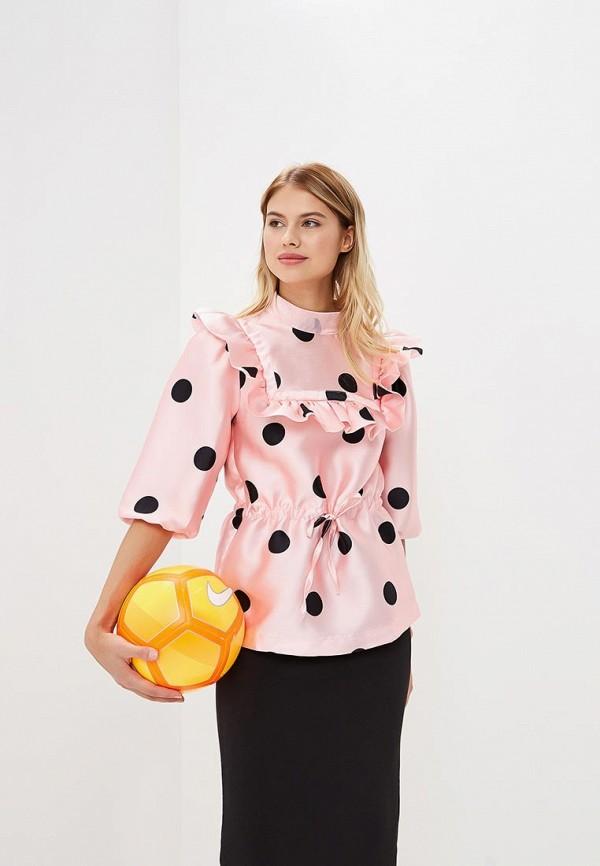 Фото - женскую блузку Tutto Bene розового цвета