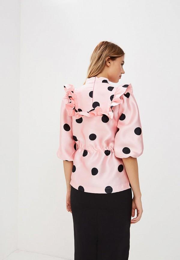 Фото 4 - женскую блузку Tutto Bene розового цвета