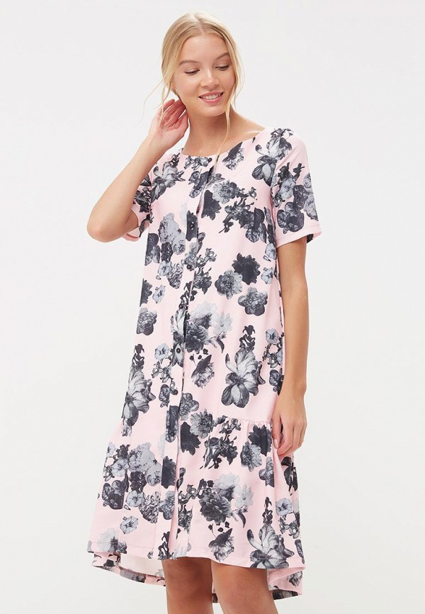 Купить Платье Tutto Bene, tu009ewbqdb1, розовый, Весна-лето 2018