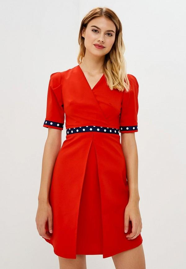Купить Платье Tutto Bene, tu009ewbqdc9, красный, Весна-лето 2018