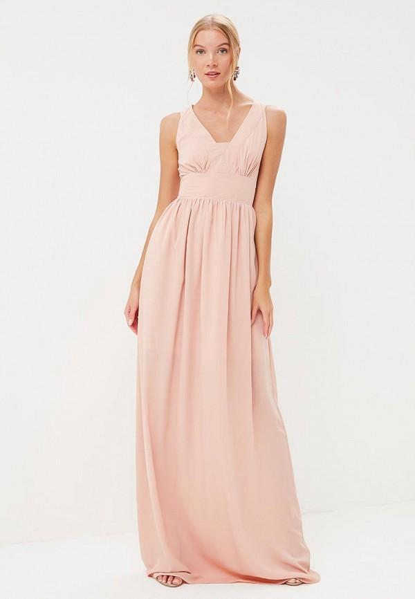 Купить Платье Tutto Bene, tu009ewbqdf4, бежевый, Весна-лето 2018