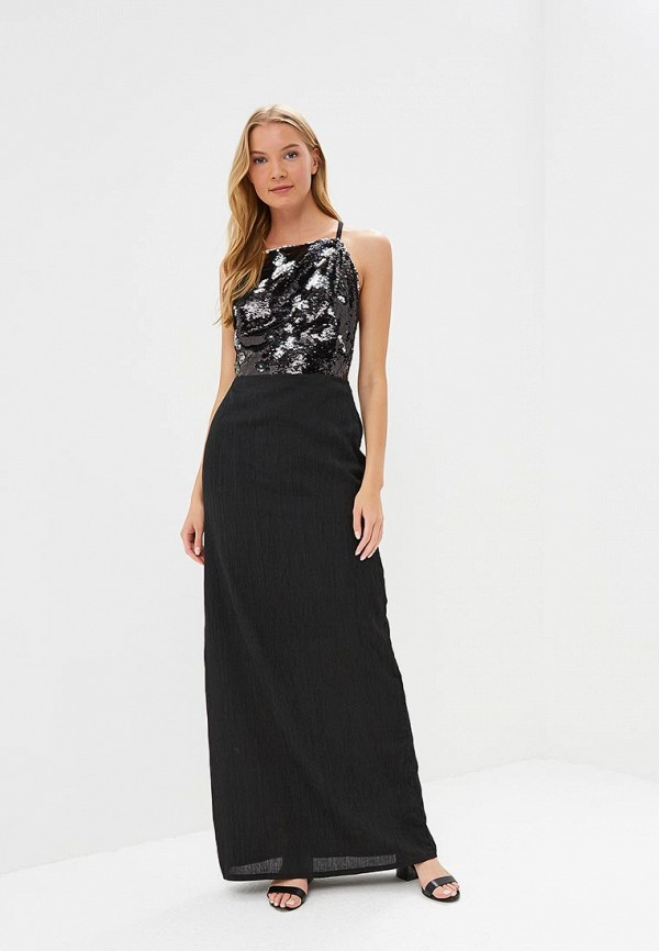 Купить Платье Tutto Bene, TU009EWBQDG8, черный, Весна-лето 2018