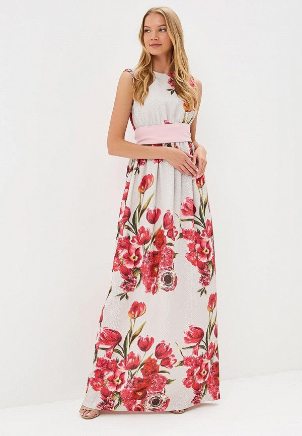 Купить Платье Tutto Bene, TU009EWBQDI4, бежевый, Весна-лето 2018