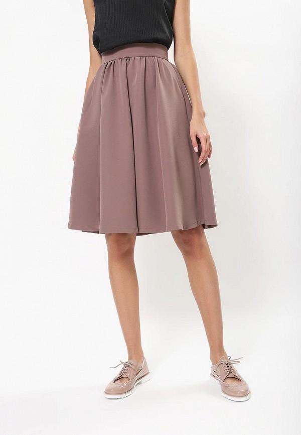женская юбка tutto bene, розовая