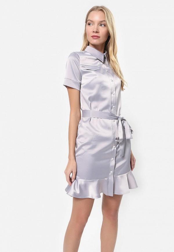 женское платье tutto bene, серое