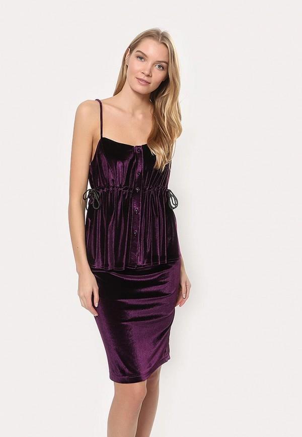 женский костюм tutto bene, фиолетовый