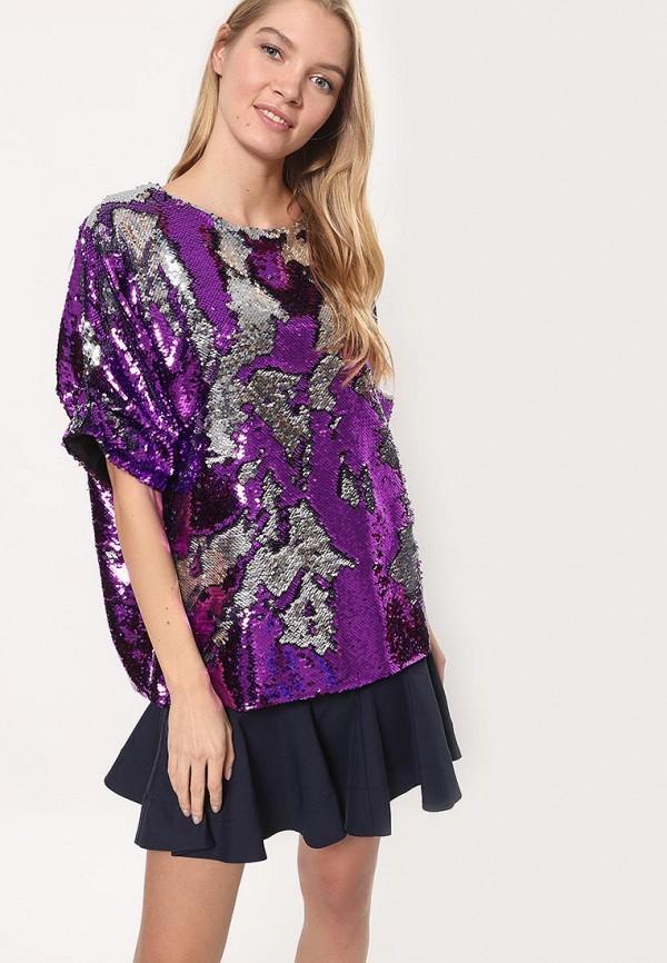 женская блузка tutto bene, фиолетовая