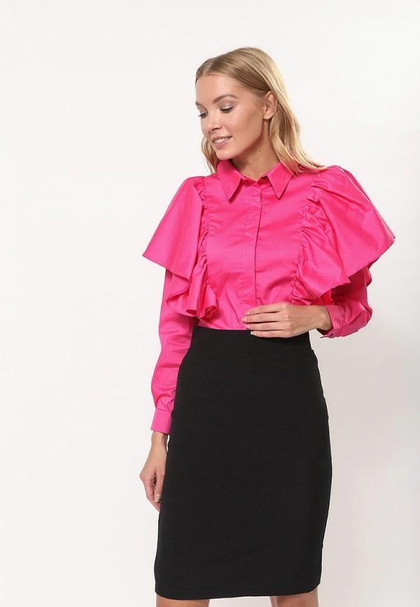 женская блузка tutto bene, розовая