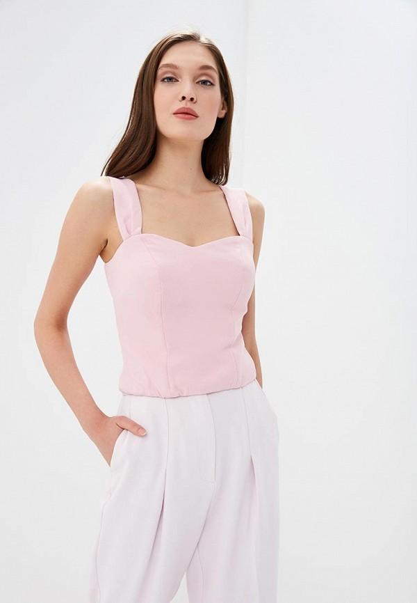 женский топ tutto bene, розовый