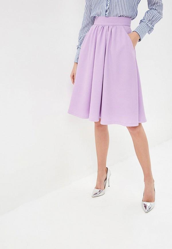 женская юбка tutto bene, фиолетовая