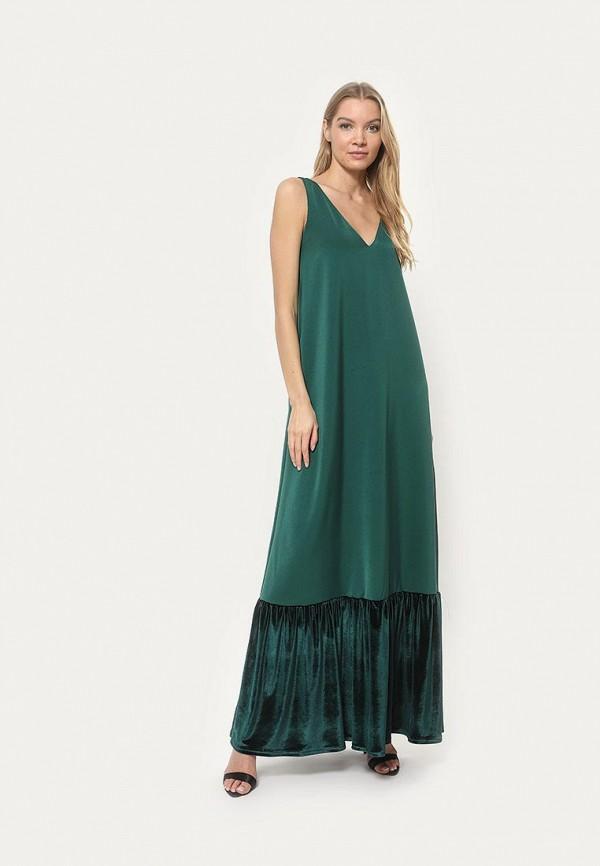 женское вечерние платье tutto bene, зеленое