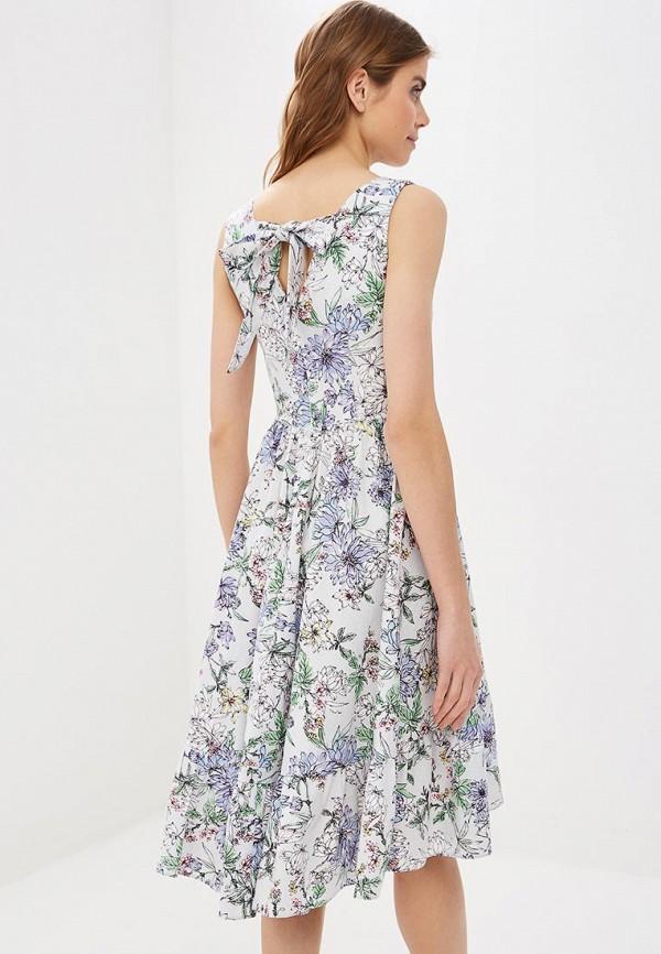 Фото 3 - женское платье Tutto Bene голубого цвета