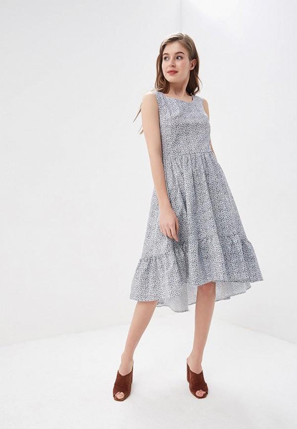 Фото 5 - женское платье Tutto Bene синего цвета