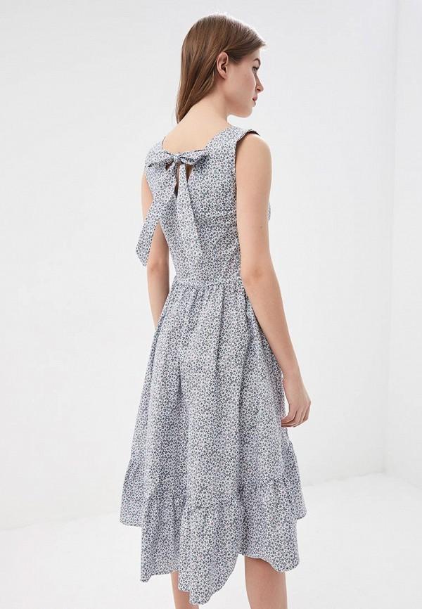 Фото 6 - женское платье Tutto Bene синего цвета