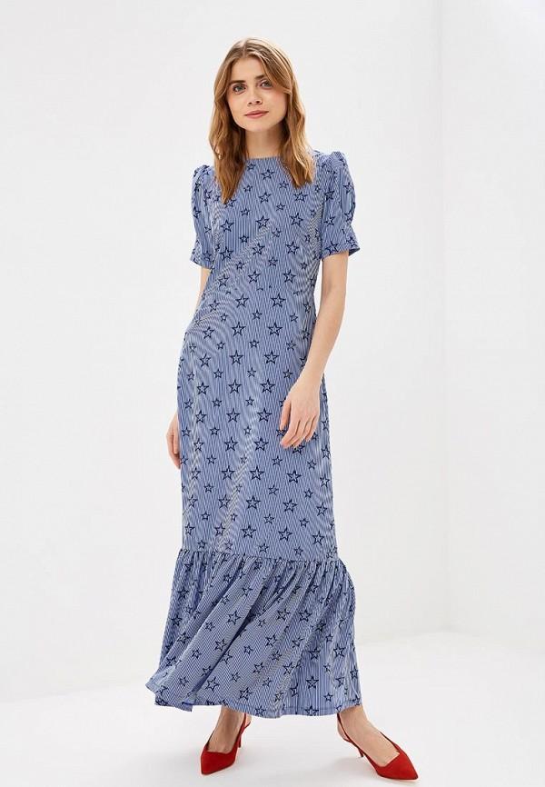 Фото - женское платье Tutto Bene синего цвета