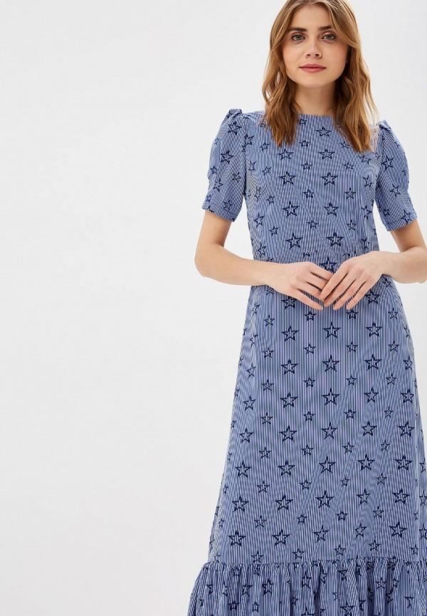 Фото 2 - женское платье Tutto Bene синего цвета