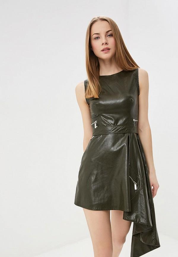 женское платье tutto bene, хаки