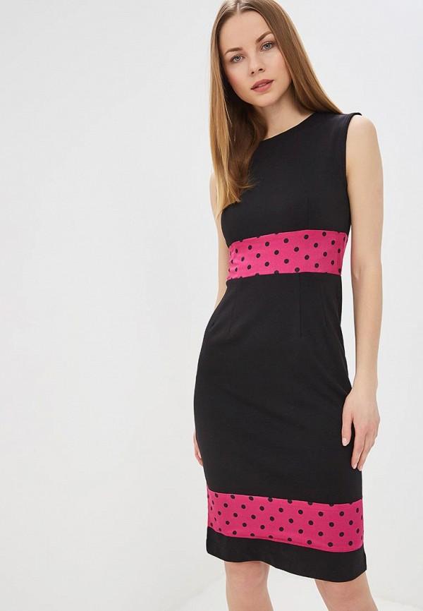 женское платье-футляр tutto bene, черное