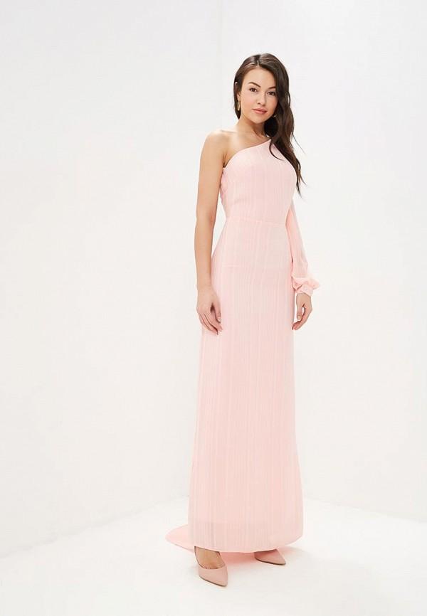 женское вечерние платье tutto bene, розовое