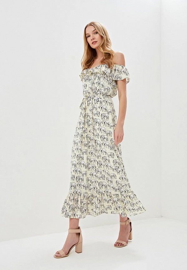 Платье Tutto Bene Tutto Bene TU009EWEXNX1 платье tutto bene цвет бежевый