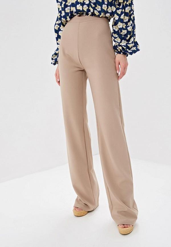 женские повседневные брюки tutto bene, бежевые