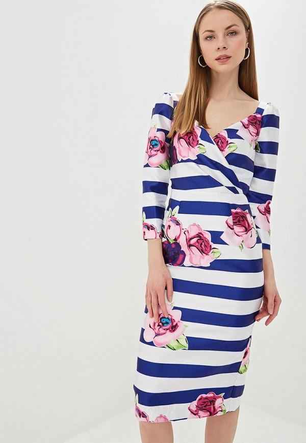 женское платье-футляр tutto bene, разноцветное