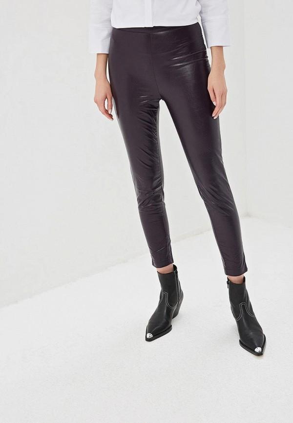 женские повседневные брюки tutto bene, фиолетовые