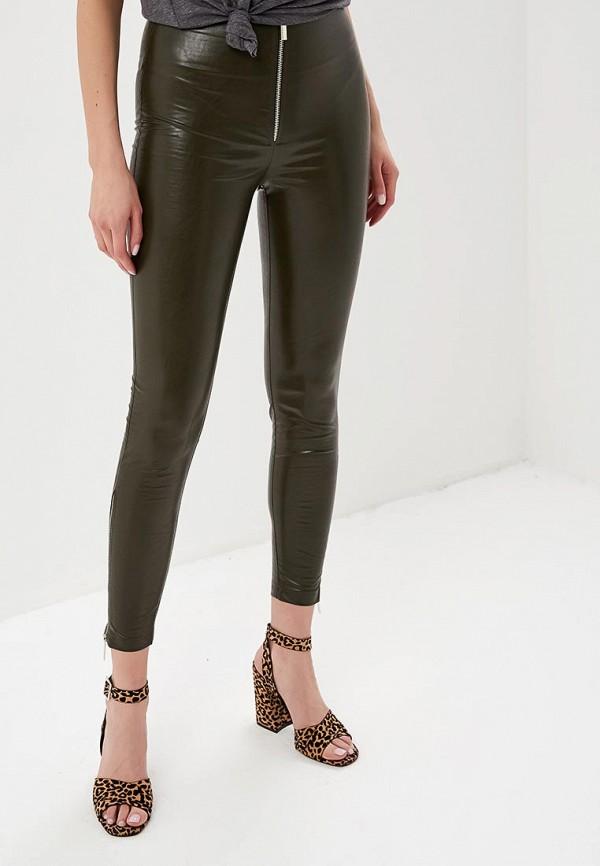 женские брюки tutto bene, хаки