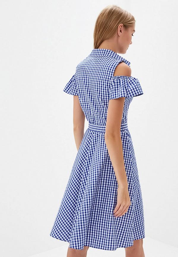 Фото 3 - женское платье Tutto Bene синего цвета