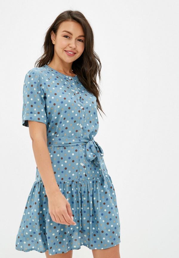 женское повседневные платье tutto bene, синее