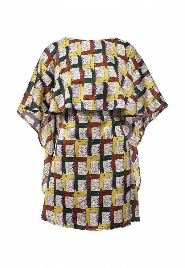 женское повседневные платье tutto bene, разноцветное
