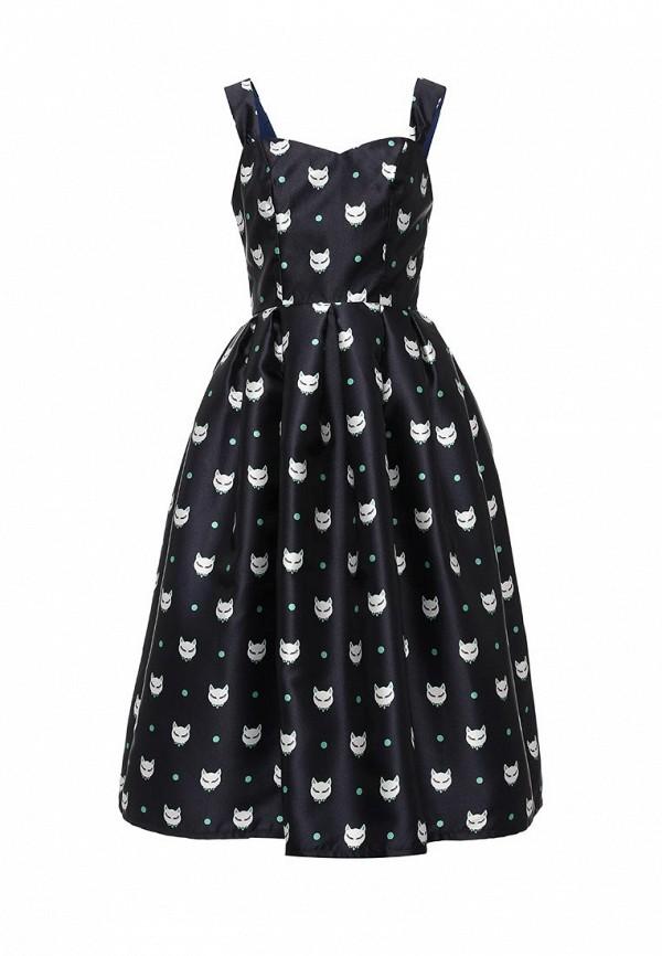 Купить Платье Tutto Bene, TU009EWKQE30, синий, Осень-зима 2016/2017