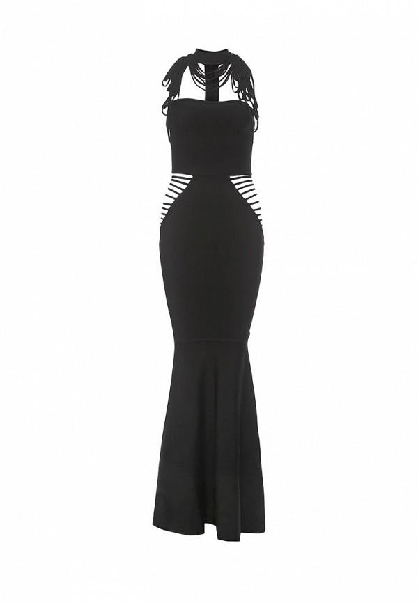 женское вечерние платье tutto bene, черное