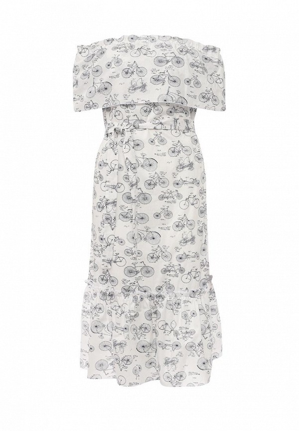 женское платье tutto bene, белое