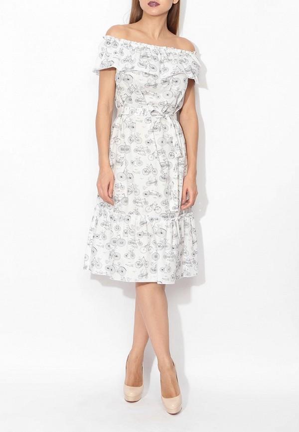 Фото 6 - женское платье Tutto Bene белого цвета