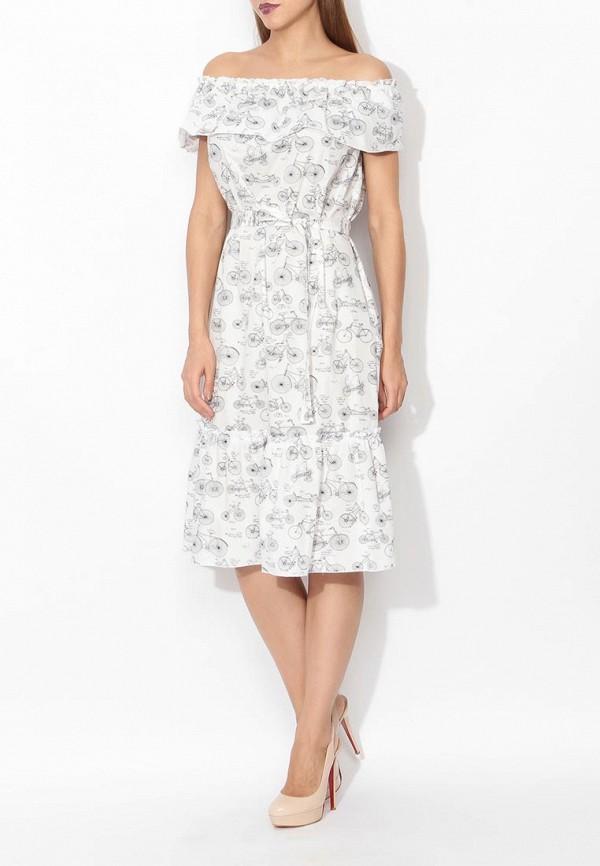 Фото 7 - женское платье Tutto Bene белого цвета