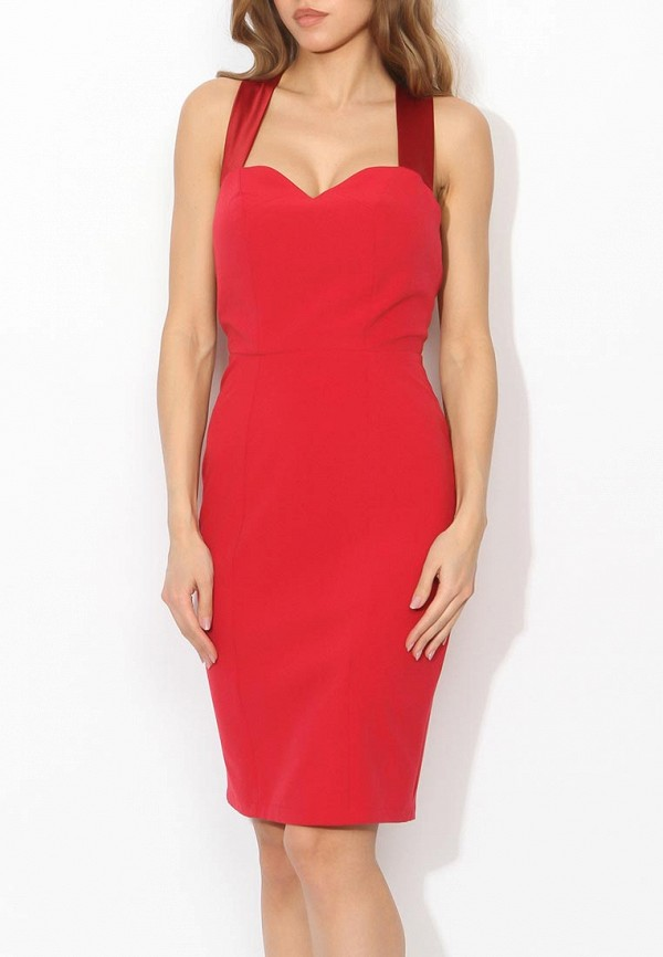 Фото 3 - женское вечернее платье Tutto Bene красного цвета