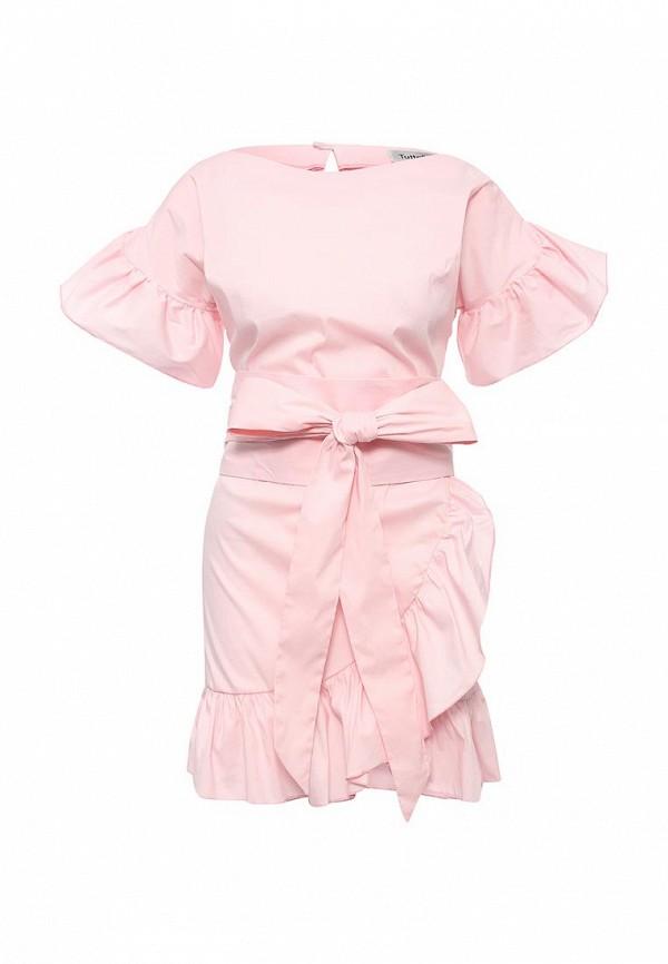 Платье Tutto Bene Tutto Bene TU009EWSIE06 цена 2017